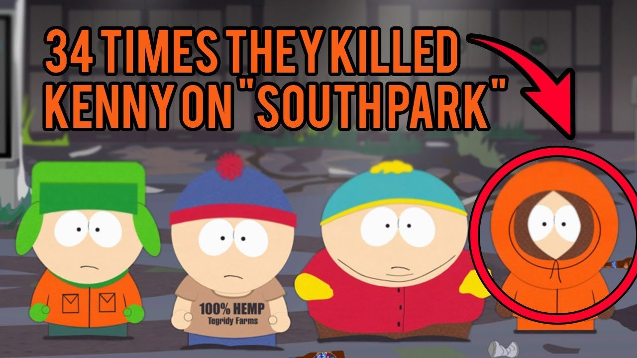 34 Times They Killed Kenny On South Park Youtube