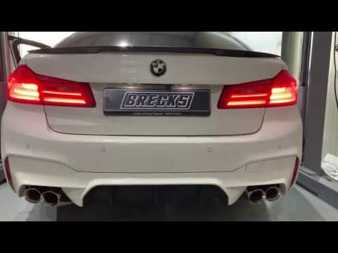 Bmw 5-series G30 G31 520i 530i Armytrix Exhaust Tuning Review Price