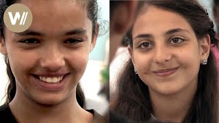 Jewish and Muslim girls try to be friends despite the prejudice (Documentary, 2014)