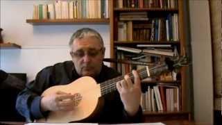 Carlos Gass. Fantasía de primer tono, de Luis de Narváez.