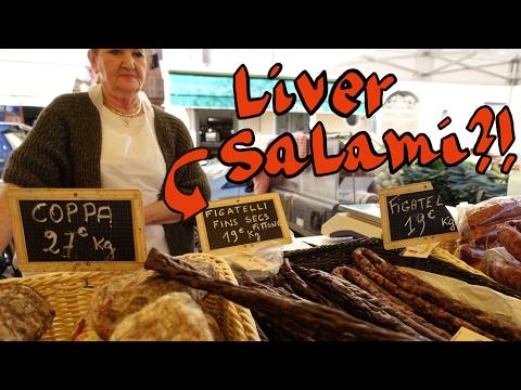 FARMER'S MARKET IN BASTIA - Travel Corsica by foot - Vlog #2