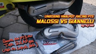 Unboxing Knalpot Racing PTS Giannelli || Aji VAS