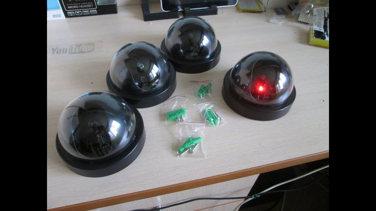 Купить муляжи камер видеонаблюдения каркам с бесплатной доставкой.