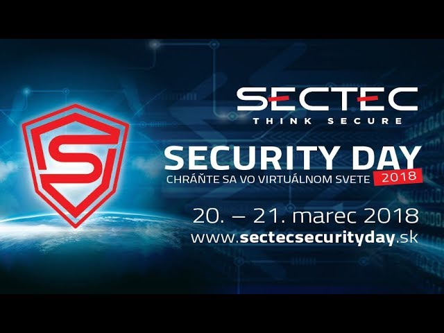 SecTec Security Day 2018
