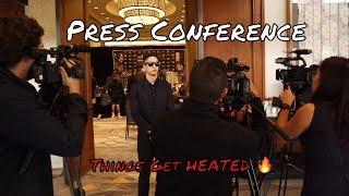 Bellator Hawaii Press Conference Nainoa & Kona First Face Off