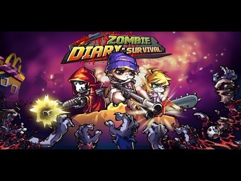 Zombie Diary: Survival -  кровавый дневник для зомби на Android ( Review)