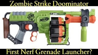 NERF NEWS: ZOMBIE STRIKE DOOMINATOR (Release Date, Game, Price Discussion)