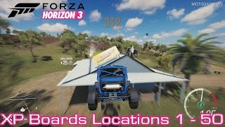 Forza Horizon 3 [PC/Xbox One] - XP Boards Locations Guide [1-50]