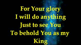 For Your Glory - Tasha Cobbs - Lyrics