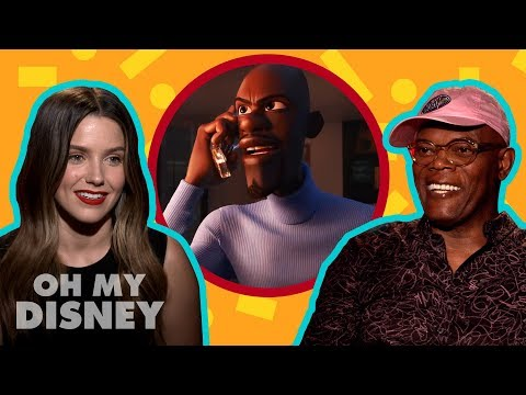 Samuel L. Jackson and Sophia Bush From Incredibles 2 Give Us Some Solid Super Advice  Oh My Disney