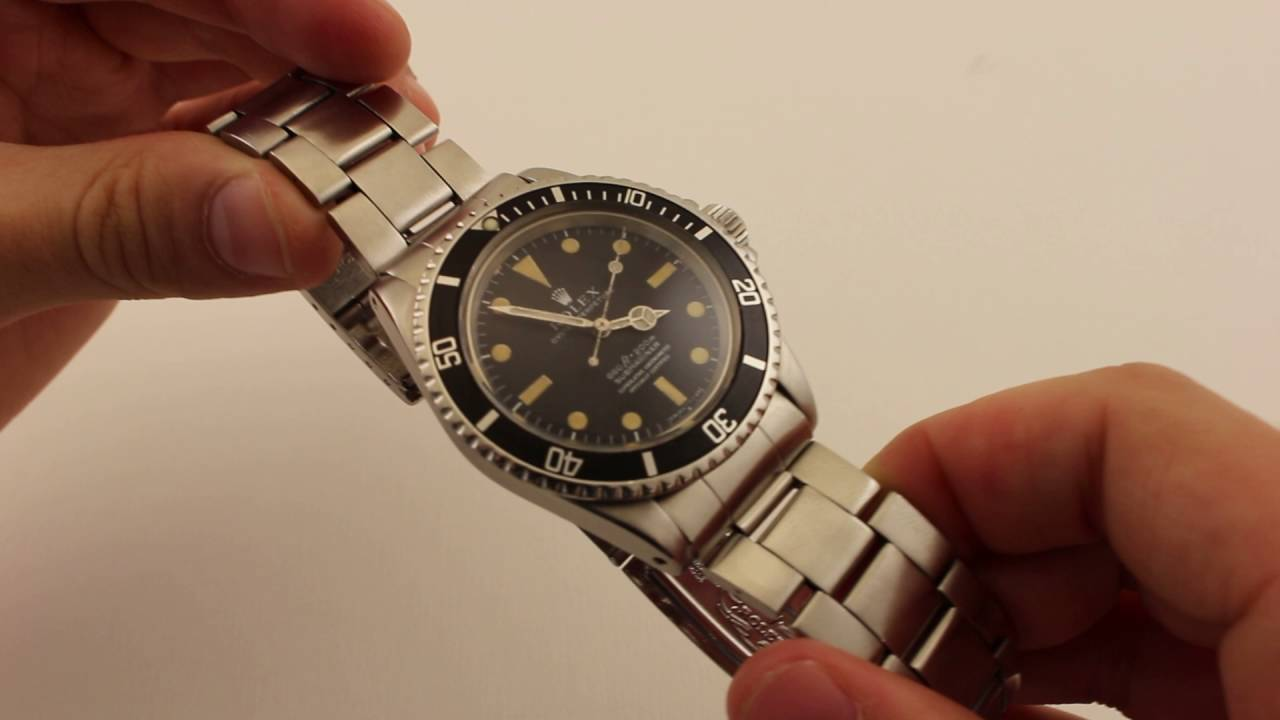 Pre Owned Rolex Submariner 5512 40mm Case 15 Million Serial Luxury