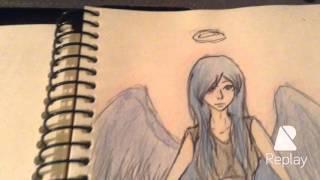 ♠️Рисую ангела♣️(В этом видео я рисую ангела.◼  ◻  ◾  ◽  ▫  ▫️, 2015-10-20T19:19:05.000Z)