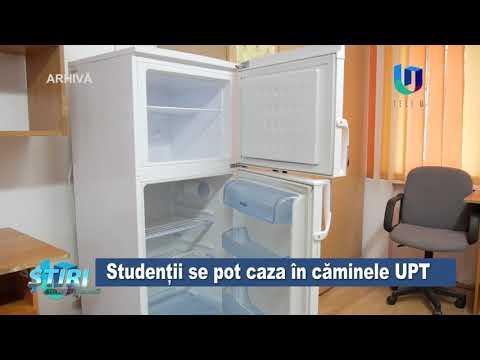 TeleU: Studenții se pot caza în căminele UPT