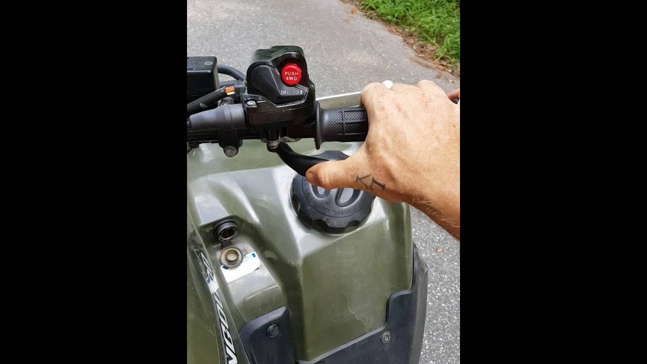 Suzuki king quad problems