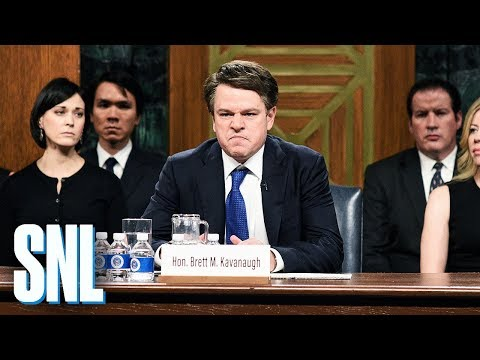 Chio - WATCH: Matt Damon Is Brett Kavanaugh, Kanye is Kanye on SNL