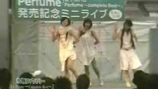 Perfume_コンベス・リリースイベント「札幌、あ~ちゃん マタギベスト」