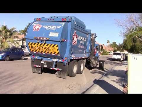 Republic Services - Trash Collection in North Las Vegas, Nevada!