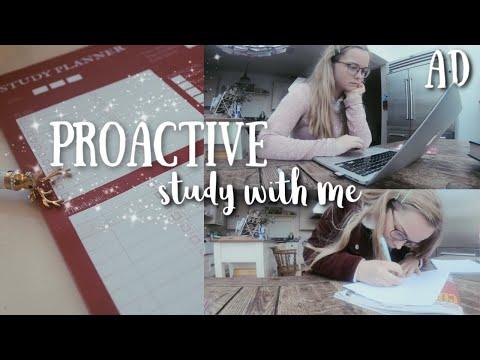 Proactive Study With Me!
