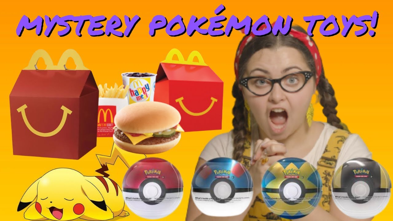 Download Pokemon Toys Full Set McDonalds Happy Meal 2018 - Tiny Treehouse TV