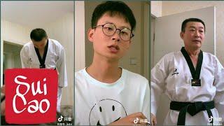 TikTok Trung Quốc.Khi bạn là con Ông Bố đai Đen Taekwondo