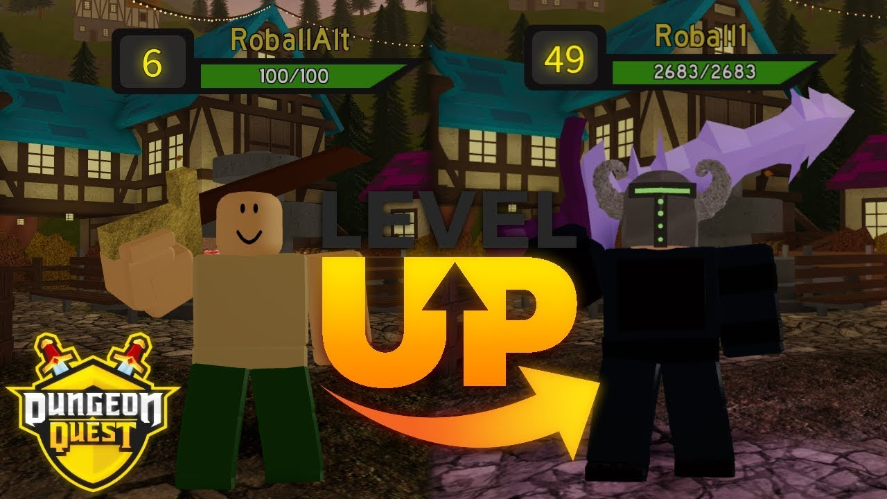 Dungeon Quest Roblox Tutorial How To Level Up For Low Levels In Dungeon Quest Guide Roblox Youtube