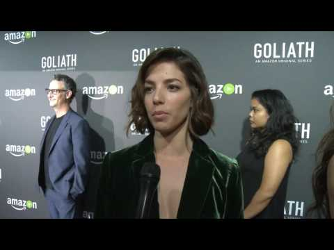 Olivia Thereby at Goliath Premiere