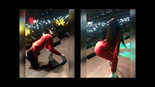 *Rare Footage* of Cardi B twerking