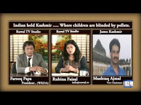 Bhagat and Burhan are heroes-Indian held kashmir where children are blinded by pellets, Dastak Ep225