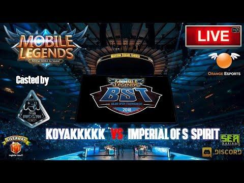 KOYAKKKKK VS IMPERIAL OF SPIRIT [Mobile Legends Online Tournament]🔘 LIVE | Malaysia