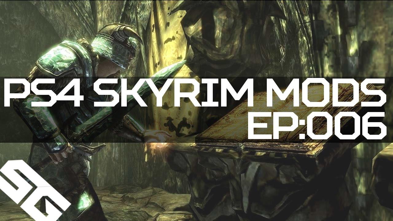 how to get skyrim mods ps4