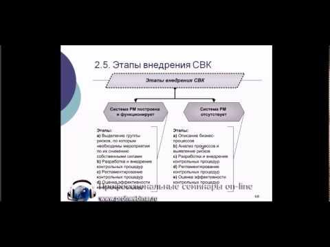 Этапы построения и внедрения системы внутреннего контроля  на предприятии
