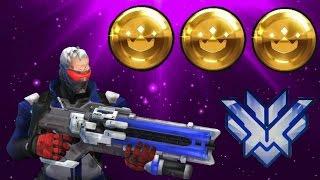 GrandMaster Overwatch Carry: 37,140 Damage + 62 Elims (Screaming Teammates)