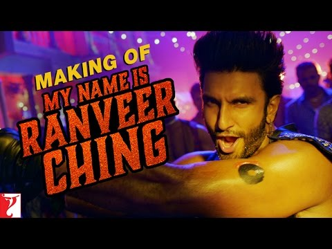 Making of My Name is Ranveer Ching - Ranveer Singh