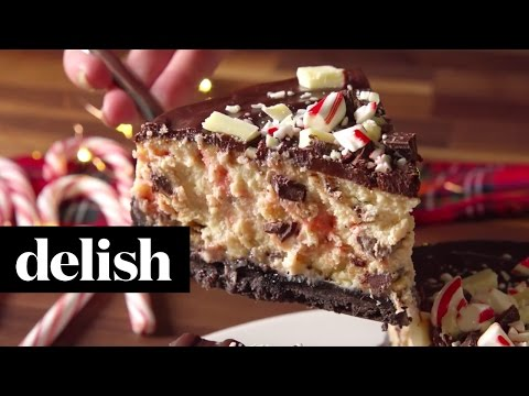 Chocolate Peppermint Cheesecake | Delish