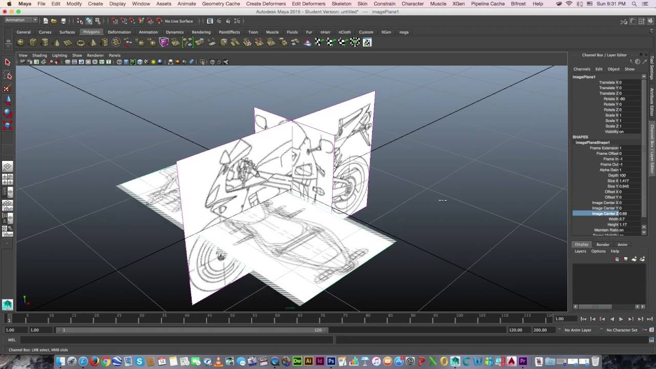 How to import blueprint in maya youtube how to import blueprint in maya malvernweather Images