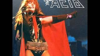 Acid - No time - Live in Belgium 1984