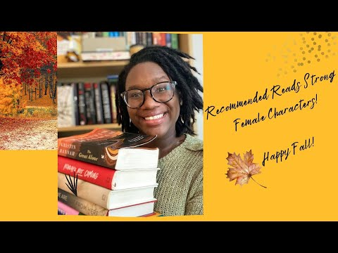 Recommended Reads Strong Female Characters | HAPPY FALL | TOP 10 | 🍁🍁🍁🍁