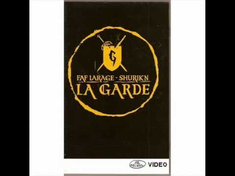 La GARDE (Shurik'N & Faf Larage) Freestyle Radio Cut Killer Show