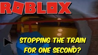 Stopping the train on Jailbreak FOR A COUPLE OF SECONDS?! feat. wi687 | ROBLOX
