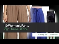 10 Women's Pants By Anna-Kaci Spring 2017 Collection