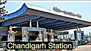 CHANDIGARH RAILWAY STATION    Chandigarh Junction railway station    Chandigarh CDG Railway Station
