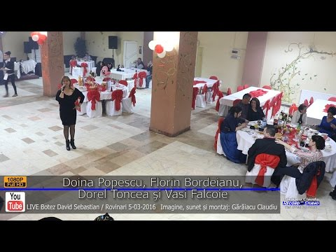 Doina Popescu si Florin Bordeianu Colaj SARBA part.3 LIVE Botez David Sebastian 5-03-2016