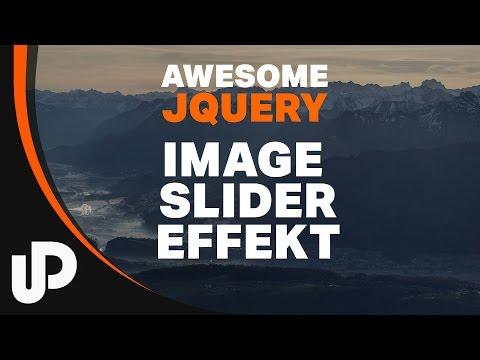 How to do: jQuery - Awesome Image Slide Effekt mit einfachen Mitteln! | Tutorial