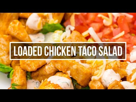 Easy Chicken Taco Salad