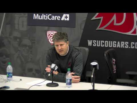 Mike Leach UW Postgame Nov. 23