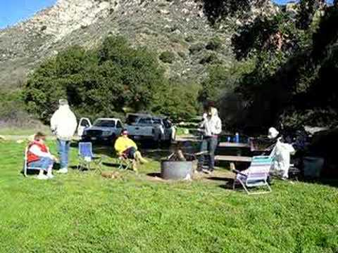 Camping in Santa Barbara