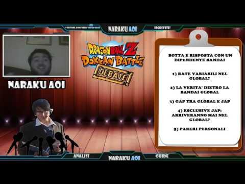 Dokkan Debate - Botta e Risposta con il Social Media Manager Bandai. Le mie Considerazioni