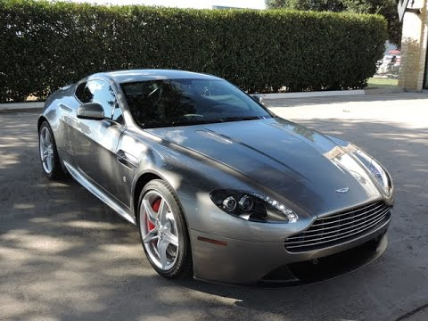 2016 Aston Martin V8 Vantage Review