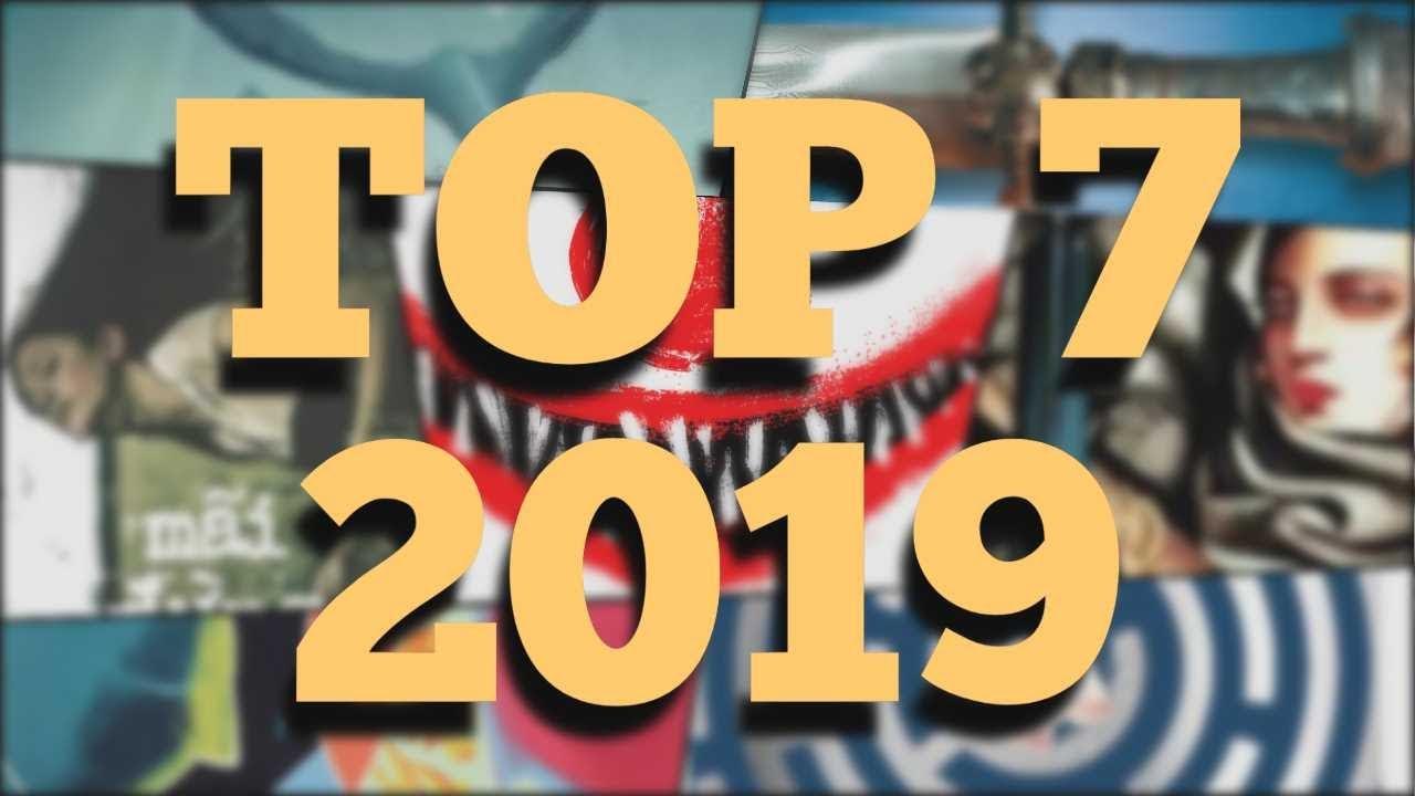 TOP 7 CUỐN SÁCH HAY NHẤT MÌNH ĐỌC NĂM 2019