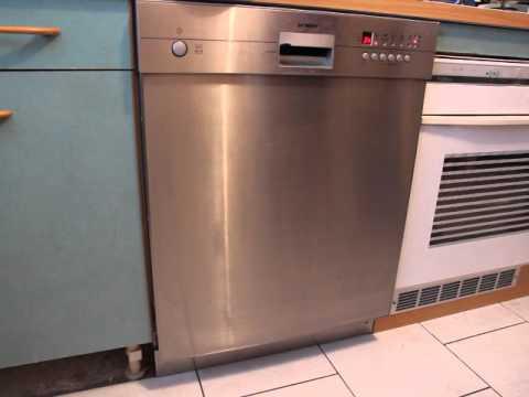 bruit lave vaisselle siemens youtube. Black Bedroom Furniture Sets. Home Design Ideas